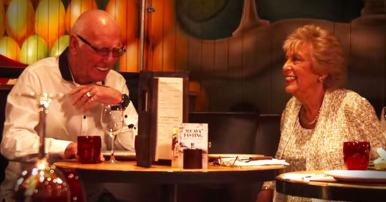 Elderly Couple's Blind Date Has The Whole Internet Talking!