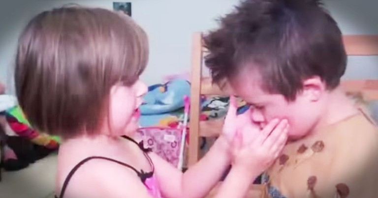 You Need to Hear What a Little Girl Says About Her Brother With Down Syndrome