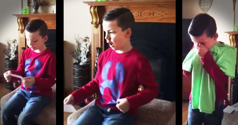 Little boy's Big Brother Surprise Will Warm Your Heart