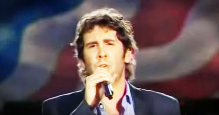 Josh Groban Singing For Our Troops Will Move You