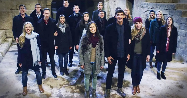 A Cappella 'O, Come All Ye Faithful' Will Give You Chills
