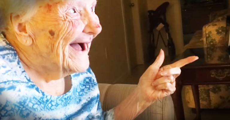 101-Year-Old Finds Out She's A Star In The Cutest Way