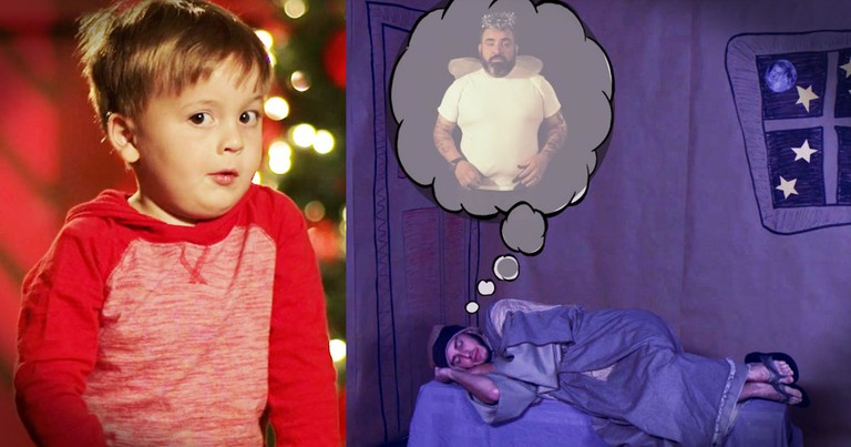 kids telling the christmas story is hilarious and adorable
