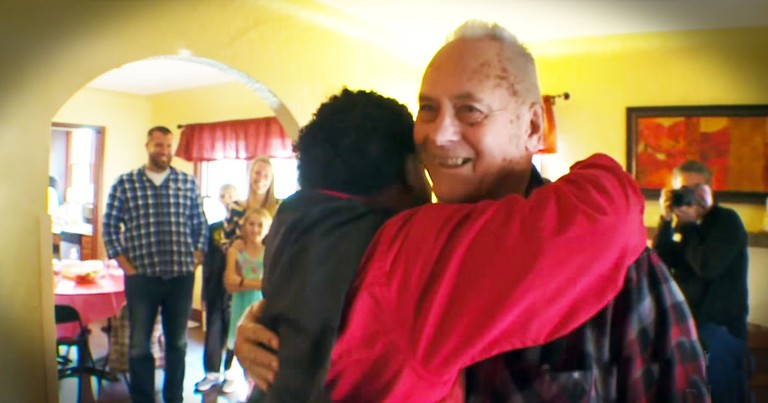 He Saved A Baby 25 Years Ago, And Their Reunion...TEARS!