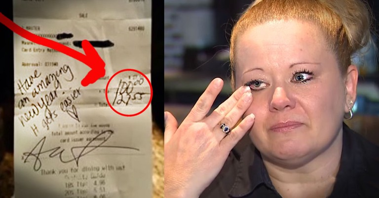 Grieving Waitress' Kind Surprise Made My Day