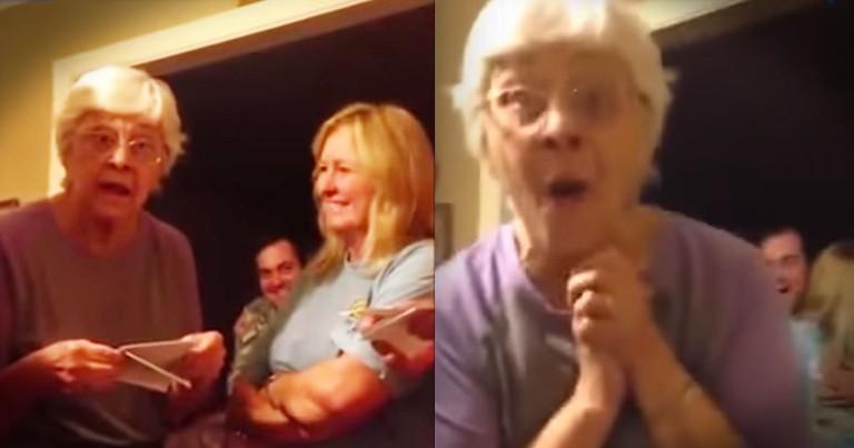 Great-Grandma's Triplet Surprise Is Too Cute To Miss