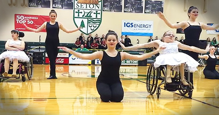 Beautiful Wheelchair Dance Routine Will Touch Your Heart!