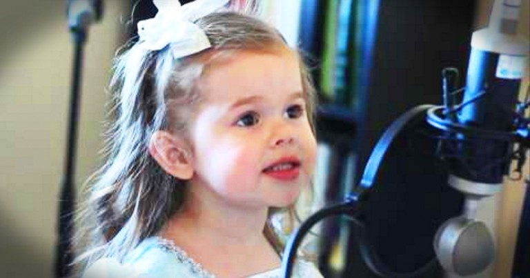 Little Girl Singing A Disney Classic Is Too Cute To Miss