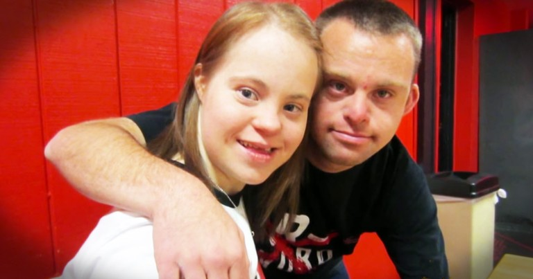Couple With Down Syndrome Proves Love Doesn't Know Labels