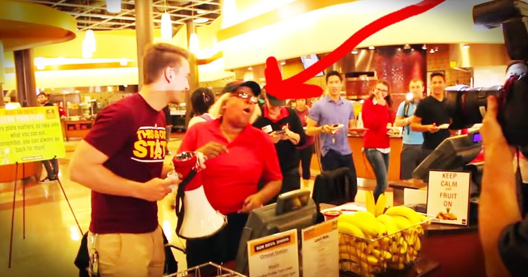 Cafeteria Worker Gets HUGE Surprise From Students