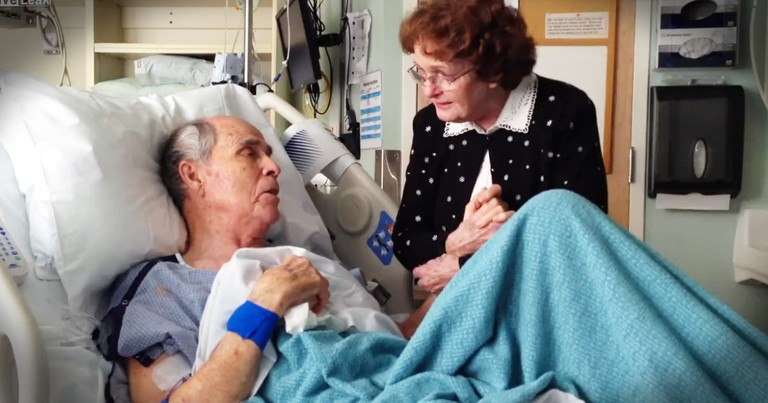Older Couple Singing In The Hospital Will Steal Your Heart