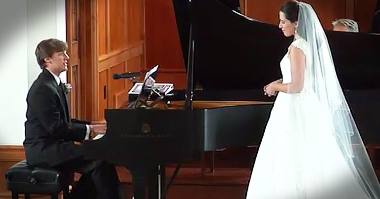 Groom's Original Song Surprise Leaves His Bride In Tears