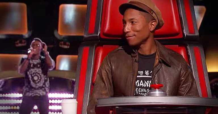 Christian's 'Happy' Audition Had The Judges Smiling
