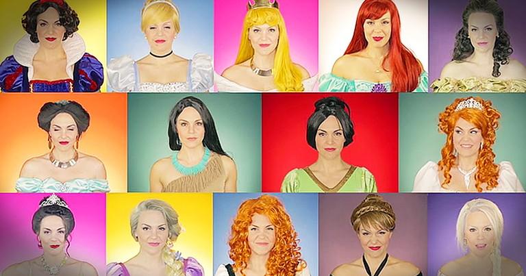 Disney Princess Medley Will Make You Smile