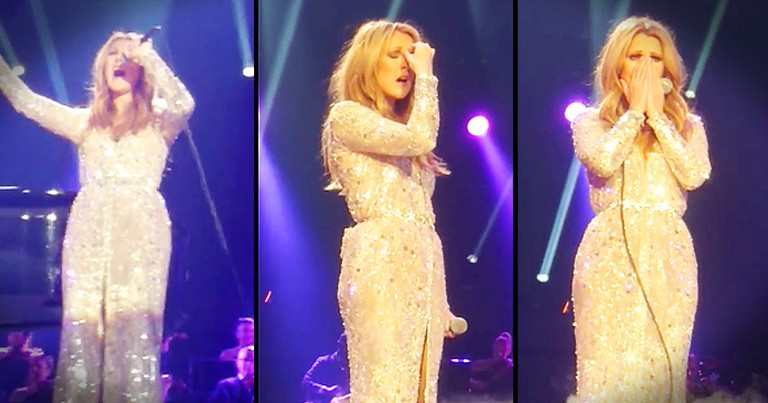 Celine Dion Breaking Down During 'All By Myself' Will Give You Chills