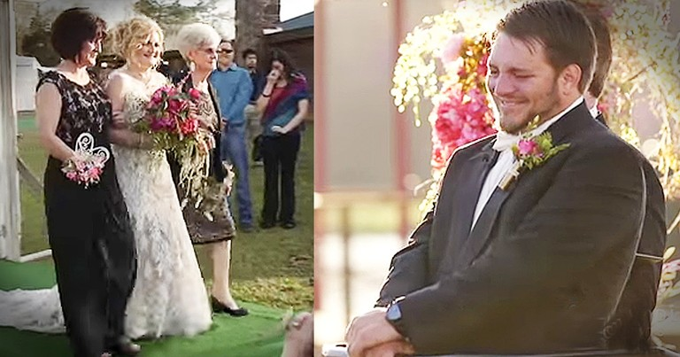 Paralyzed Groom Standing For His Wedding Will Bring The Tears!