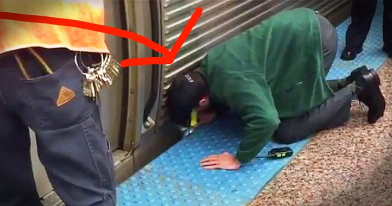 Good Samaritan Rescues Woman Trapped Under A Train