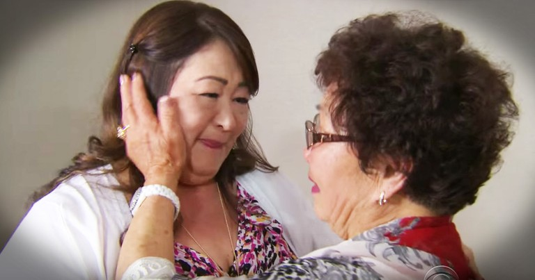 Mother And Daughter Reunion 50 Years In The Making Is Tearful