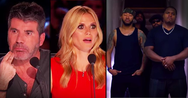 Tough Guys' Touching Audition Stunned The Judges