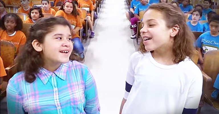Kids Choir Singing 'Humble And Kind' Is Moving