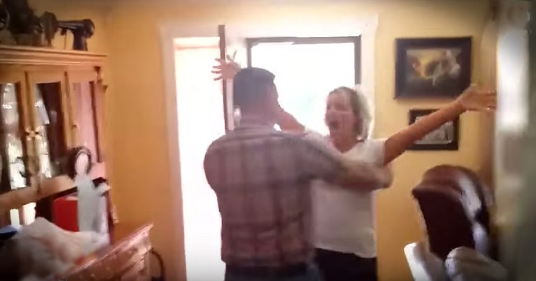Soldier's Homecoming Surprise After 4 YEARS Is Beautiful