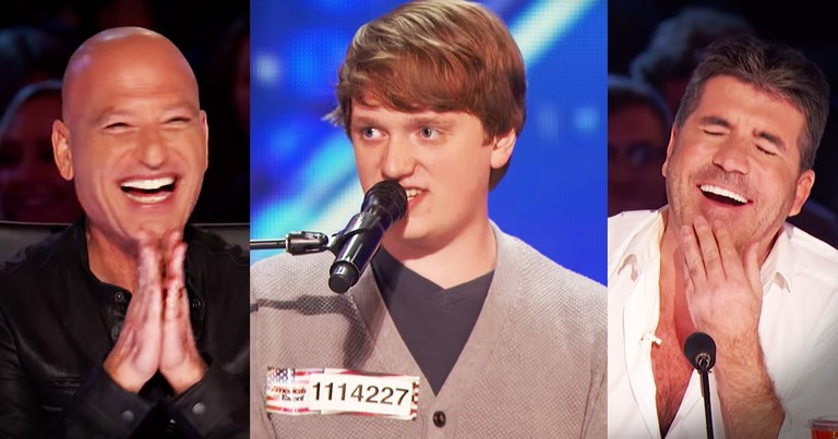 Homeschooler's Hilarious Audition Hits A Chord With The Judges