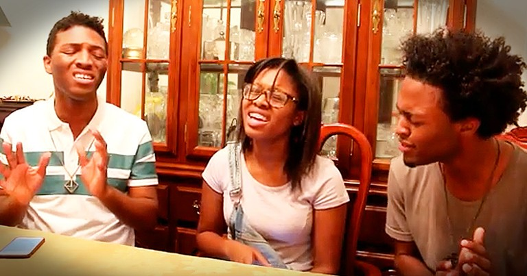 3 Teens Sing Stunning Rendition Of 'How Can It Be'