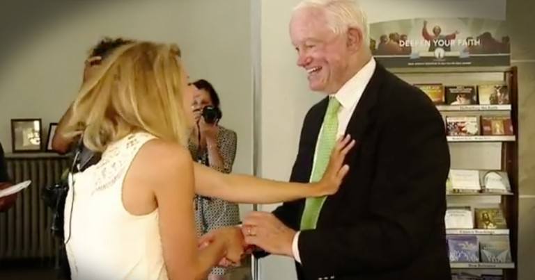 Bride Walked Down The Aisle By The Man With Her Father's Heart Will Leave You In Tears