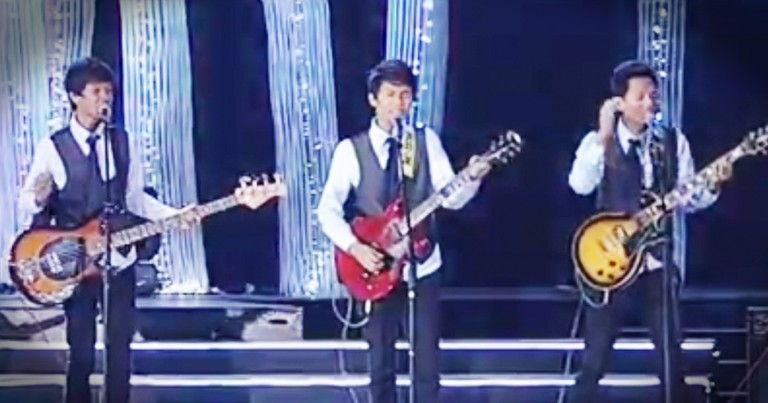 These 4 Brothers Are Covering Beatles Classic After Classic And They're Incredible