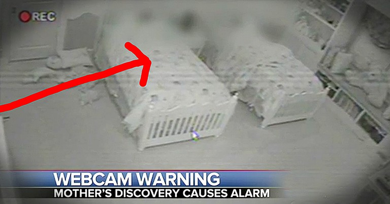 Mother Discovers Strangers Have Hacked Into Security Camera