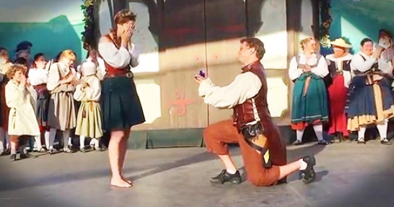 Man Surprises Girlfriend With Adorable Irish Dance Proposal