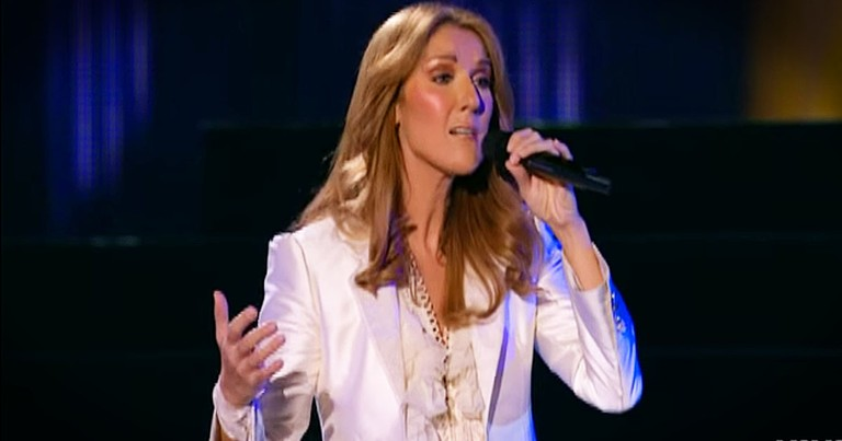 Celine Dion's Beautiful Classic 'Because You Loved Me' Live