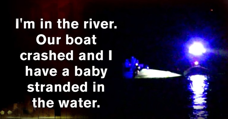 Toddler Trapped Under A Boat Gets A Rescue That Is No Doubt Miracle