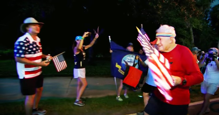 93-Year-Old Vet Started Running Across The Country To Remind People That Freedom Comes At A Cost
