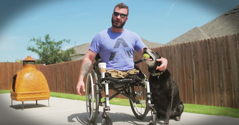Marine Who Hit Rock Bottom And A Former Football Star's Friendship Saved This Hero's Life