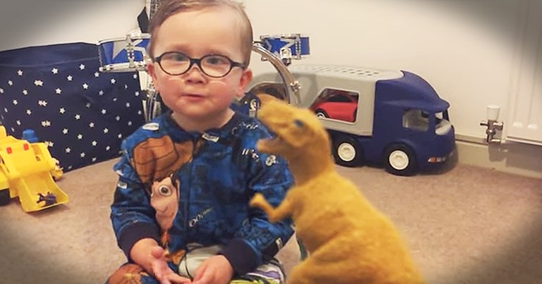 Toddler's Adorable Dinosaur Knowledge Impresses Mom