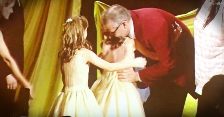 Twin Girls Dancing With The Man Who Saved Their Lives Is Too Sweet