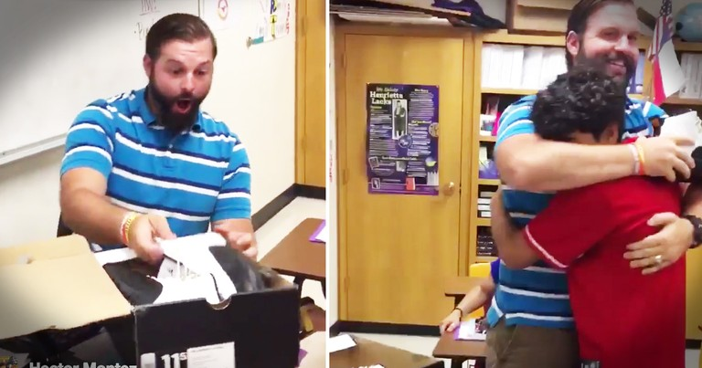 Teacher Who Always Stood Up For His Student Gets The Sweetest Thank You