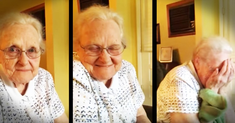 92-Year-Old Wrote A Song For Willie Nelson And She's Hearing It For The First Time