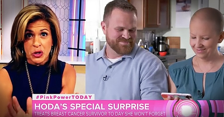Inspiring Mother With Breast Cancer Leaves Today Show Host In Tears
