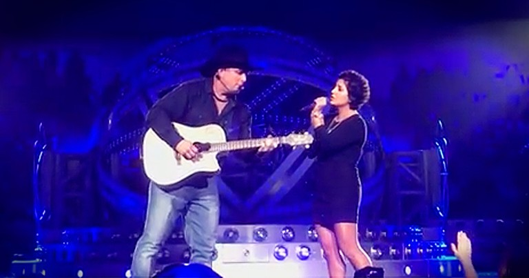 Garth Brooks Sings Duet With Cancer Survivor After She Misses Her Audition For The Voice