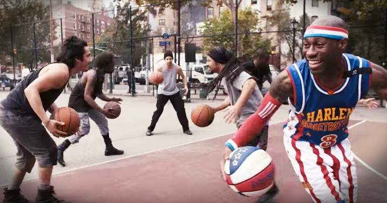 STOMP And The Harlem Globetrotters Team Up To Make The Most Amazing Rhythm