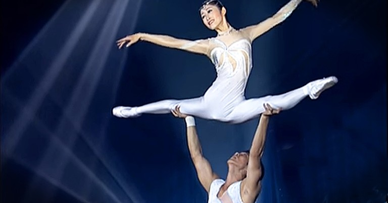 Unique Ballet Performance Showcases Talent And Skill