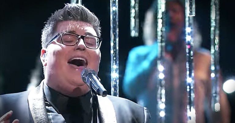 Winner Of The Voice Sings Soul-Stirring Rendition Of 'O Holy Night'