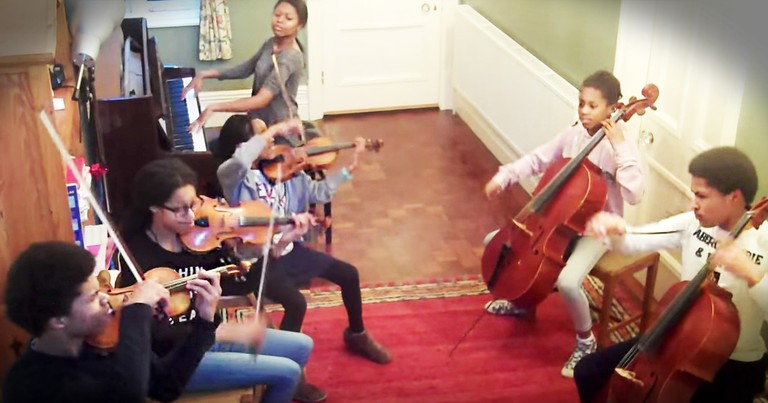 6 Siblings With Insane Musical Talent Just Nailed This Classic