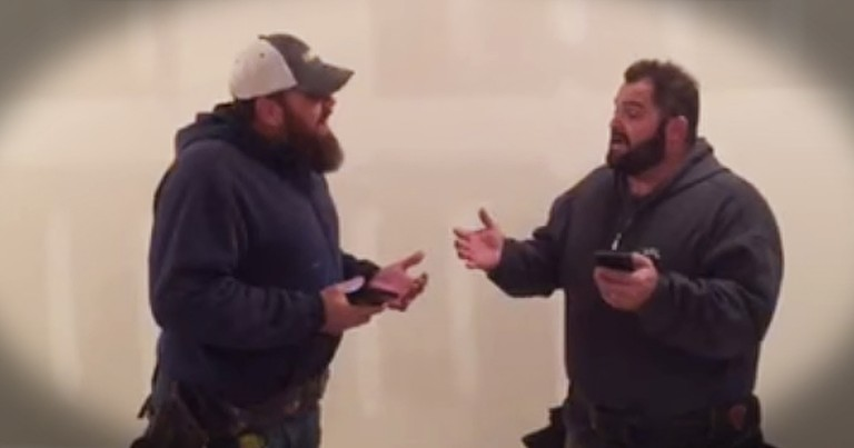 The Singing Contractors Perform Chilling Rendition Of 'Mary, Did You Know'