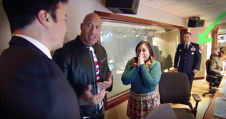 The Rock Just Brought This Soldier Home For Christmas In The Best Homecoming Surprise