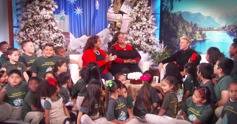 Deserving School Gets A Big Christmas Surprise From Walmart