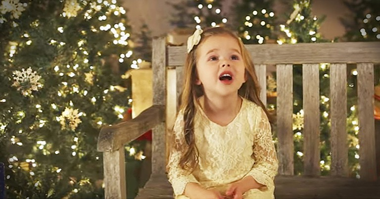4-Year-Old's Sweet Version Of 'Silent Night' Is A Beautiful Christmas Gift