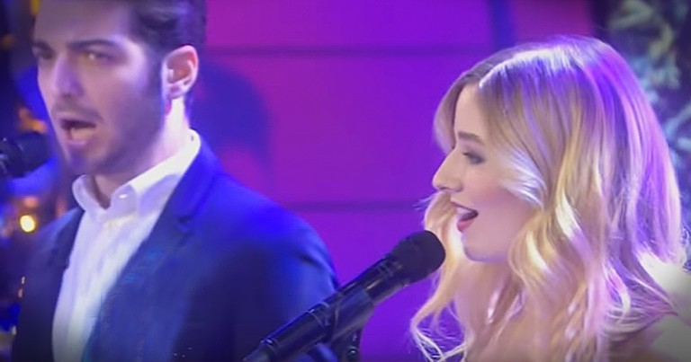 Jackie Evancho Performs Soul-Filled Rendition Of 'Little Drummer Boy' On National TV